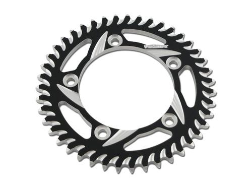 Buy Vortex Rear Sprocket 40 Tooth Black & Silver 525 Chain S1000RR (10-19), S1000R (14-20), and S1000XR (15-19) 453369 at the best price of US$ 74.95 | BrocksPerformance.com