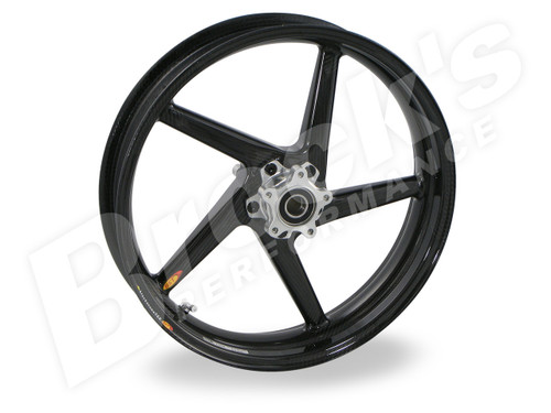 BST Diamond TEK 17 x 3.5 Front Wheel - Aprilia RSV1000R and Factory w/ Radial Front Calipers (05-08) / Tuono 1000 Mille Factory (04-05)/ TuonoR and Factory (06-14)