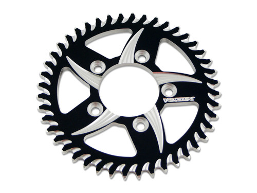Vortex 840 Rear Sprocket 46T Black/Silver 520 Chain