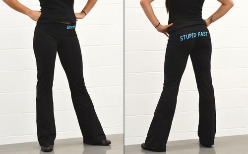 Large Brock's Yoga Sweatpants Black