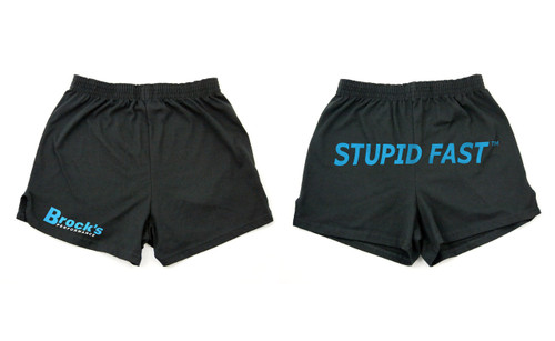 Buy Small Brock's Shorts Black 501003 at the best price of US$ 5.99 | BrocksPerformance.com