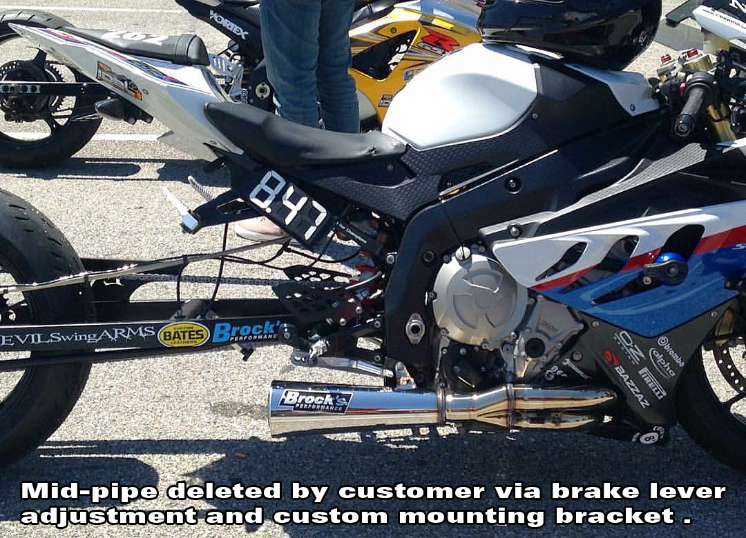 Sidewinder Full System Black 14 Muffler S1000rr 10 19 And S1000r 14 20