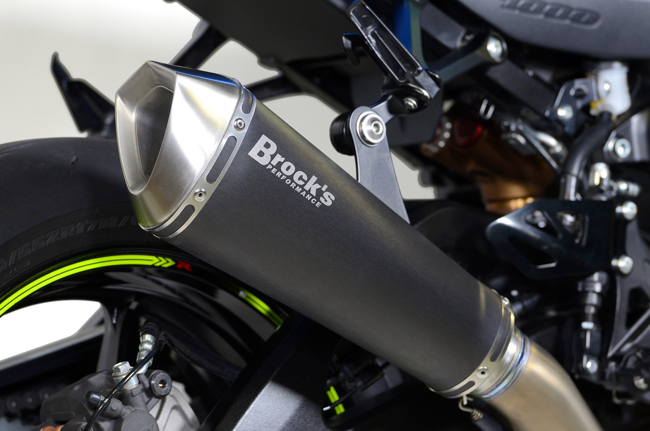 Predator Full System - Ti Front Section w/ Electro-Black Muffler GSX-R1000/R (17-20)
