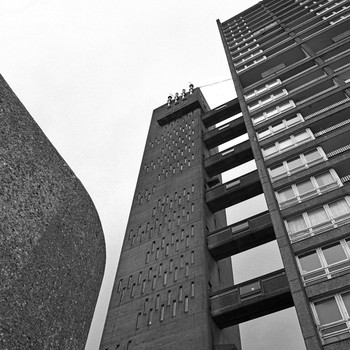 Brutalist London Map detail 01 by Blue Crow Media at Of Cabbages and Kings.