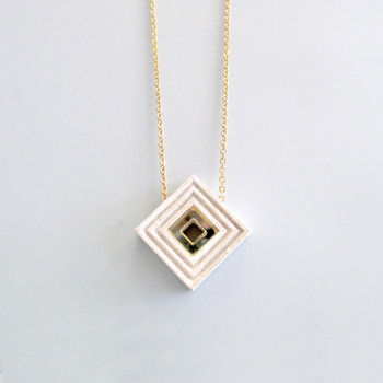 Diamond Necklace white by Wolf and Moon at Of Cabbages and Kings