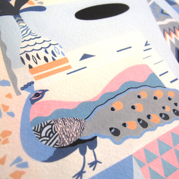 Love Exposure art print detail 04 by Adam Bartlett available at Of Cabbages and Kings.