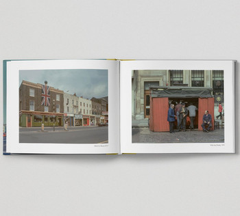 The East End In Colour 1960-1980 by David Granick, book pages 05 published by Hoxton Mini Press and available at Of Cabbages and Kings.