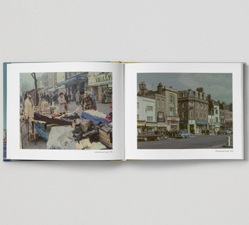 The East End In Colour 1960-1980 by David Granick, book pages 06 published by Hoxton Mini Press and available at Of Cabbages and Kings.