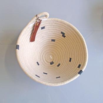 Medium Striped Basket