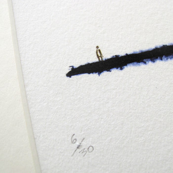 To The Edge And Back art print detail 02 by Sarah Beaton at Of Cabbages and Kings