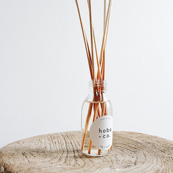 Fig + Cassis Reed Diffuser by Hobo + Co lifestyle 01 at Of Cabbages and Kings
