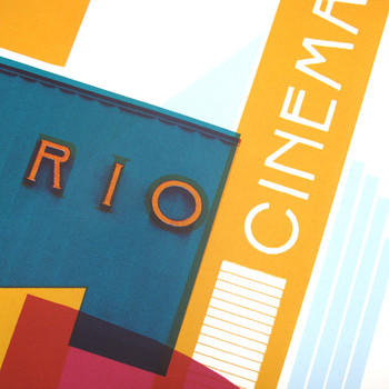 Rio Cinema detail two by Underway Studio at Of Cabbages and Kings
