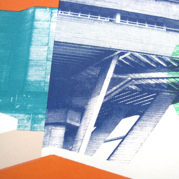 National Theatre 2nd Edition screen print detail two by Underway Studio at Of Cabbages and Kings