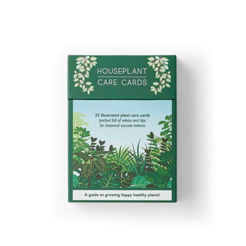 House Plant Care Cards boxed by Another Studio at Of Cabbages & Kings
