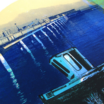 Deal Town screen boat print detail by Melissa North at Of Cabbages and Kings