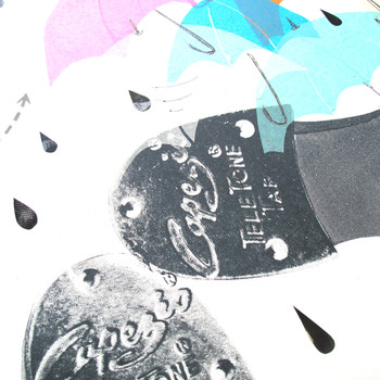 Singing in the Rain collage feet detail by Factory Press at Of Cabbages and Kings