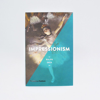 Impressionism - Art Essentials Book Cover by Thames and Hudson at Of Cabbages and Kings
