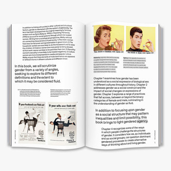 Is Gender Fluid? - The Big Idea  Book Double Page Spread One by Thames and Hudson at Of Cabbages and Kings