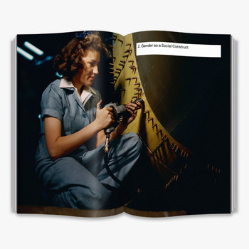 Is Gender Fluid? - The Big Idea  Book Double Page Spread Two by Thames and Hudson at Of Cabbages and Kings