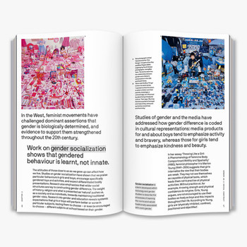 Is Gender Fluid? - The Big Idea  Book Double Page Spread Four by Thames and Hudson at Of Cabbages and Kings