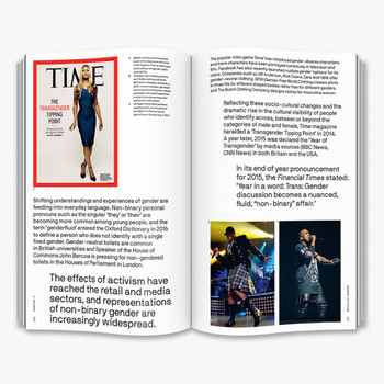 Is Gender Fluid? - The Big Idea  Book Double Page Spread Five by Thames and Hudson at Of Cabbages and Kings