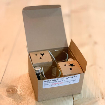 Make Your Own Candle Kit - Fresh Fig by Parkmister Products open box at Of Cabbages and Kings