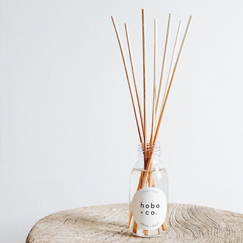 Citrus + Basil Reed Diffuser lifestyle 02 by Hobo + Co at Of Cabbages and Kings