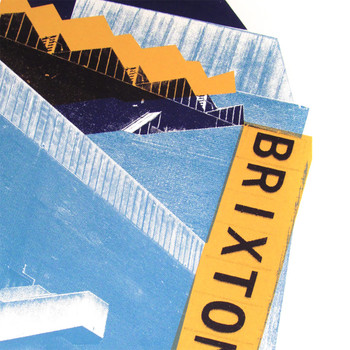 Brixton Rec print detail 01 by Underway Studio at Of Cabbages and Kings