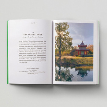 An Opinionated Guide To London Green Spaces open book 1 by Hoxton Mini Press at Of Cabbages and Kings
