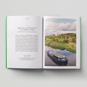 An Opinionated Guide To London Green Spaces open book 2 by Hoxton Mini Press at Of Cabbages and Kings