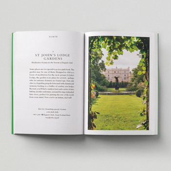 An Opinionated Guide To London Green Spaces open book 3 by Hoxton Mini Press at Of Cabbages and Kings