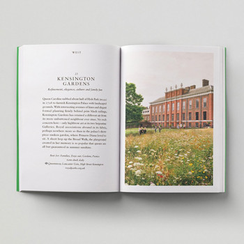 An Opinionated Guide To London Green Spaces open book 4 by Hoxton Mini Press at Of Cabbages and Kings
