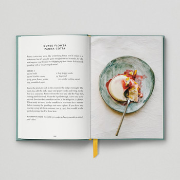 The Urban Forager Book Gorse Flower Panna cotta by Hoxton Mini Press at Of Cabbages and Kings