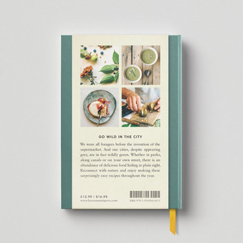 The Urban Forager Book back cover by Hoxton Mini Press at Of Cabbages and Kings