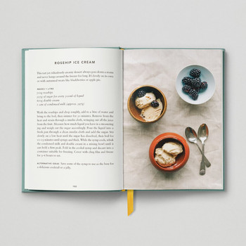 The Urban Forager Book Rosehip Ice Cream by Hoxton Mini Press at Of Cabbages and Kings