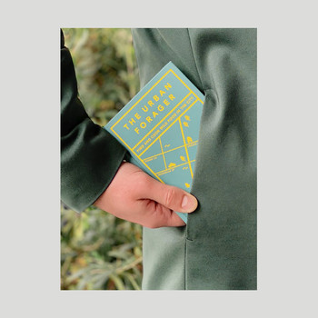 The Urban Forager Book fits in your pocket by Hoxton Mini Press at Of Cabbages and Kings