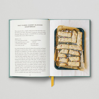 The Urban Forager Book Salt Cured Cherry Blossom Shortbread by Hoxton Mini Press at Of Cabbages and Kings
