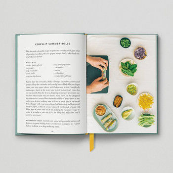 The Urban Forager Book Cowslip Summer Rolls by Hoxton Mini Press at Of Cabbages and Kings