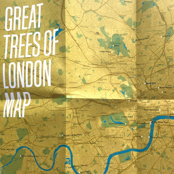 Great Trees of London Map open by Blue Crow Media at Of Cabbages and Kings.