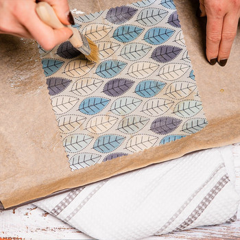 DIY Beeswax Wrap Kit - (process 02) by Pretty Bee Fresh at Of Cabbages and Kings