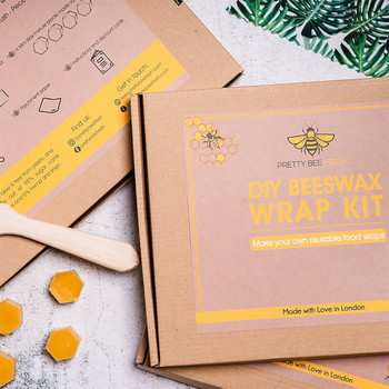 DIY Beeswax Wrap Kit - (closed Box 02) by Pretty Bee Fresh at Of Cabbages and Kings