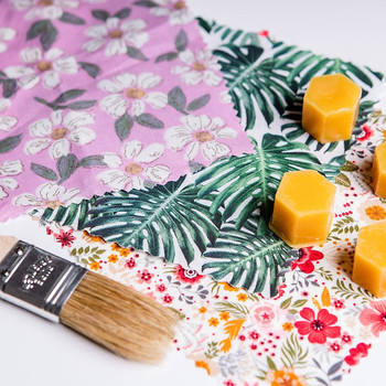 DIY Beeswax Wrap Kit - (example contents) by Pretty Bee Fresh at Of Cabbages and Kings