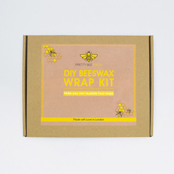 DIY Beeswax Wrap Kit - (closed Box) by Pretty Bee Fresh at Of Cabbages and Kings