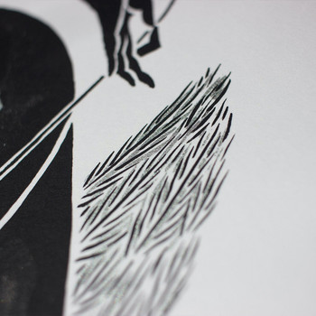 Starmaker screen print detail 02 by Tom Berry at Of Cabbages and Kings