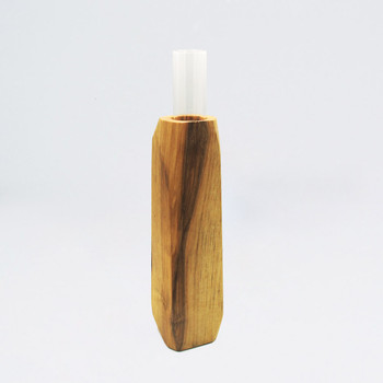 Medium Light Wooden Vase single 01 by Priormade at Of Cabbages and Kings