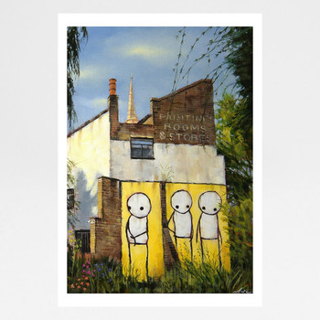 The Pheonix Garden art print full by Marc Gooderham at Of Cabbages and Kings