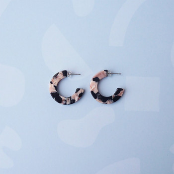 Rosea Mini Earrings detail 02 By Custom Made at Of Cabbages and Kings