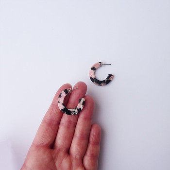 Rosea Mini Earrings detail 03 By Custom Made at Of Cabbages and Kings