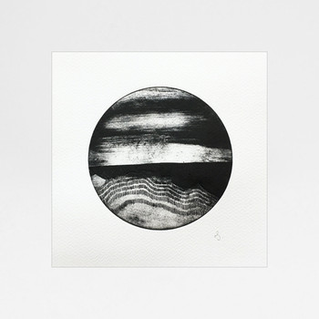 Abstract Circle 2 print by Rachel Sodey at Of Cabbages and Kings
