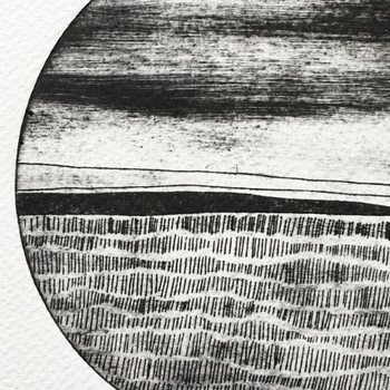 Abstract Circle 3 print detail 01 by Rachel Sodey at Of Cabbages and Kings